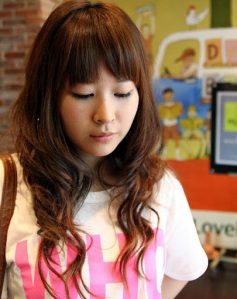 Asian Girls Long HairStyle