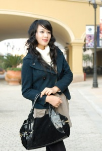 Asian Long Black Hairstyle 2009