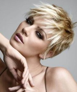 Cute Short Blonde Hairstyles 2010