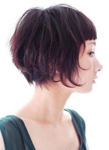 Excellent Cute short hairstyle trend for winter 2010