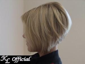 Angled Bob Short Hairstyle