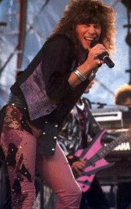 Jon Bon Jovi Rock Star Long Hairstyle