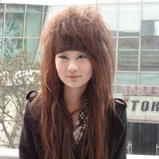 Asian punk style