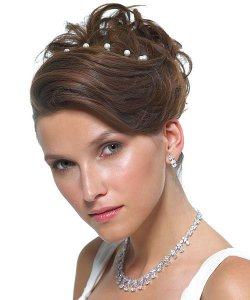 Cute Prom Updo Hairstyle for Teen Girl prom updo hairstyle